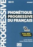 Lucile Charliac et Annie-Claude Motron - Phonétique progressive du français avancé B2-C1 - Avec 400 exercices. 1 CD audio MP3