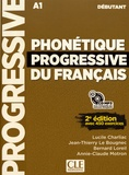 Lucile Charliac et Jean-Thierry Le Bougnec - Phonétique progressive du français débutant A1. 1 CD audio MP3