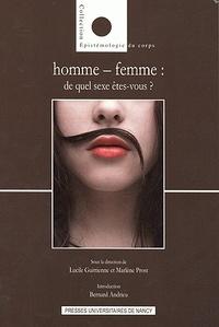 Lucile Guittienne et Marlène Prost - Homme-femme : de quel sexe êtes-vous ?.