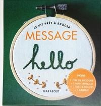 Lucile Trichet - Le kit prêt à broder Message.