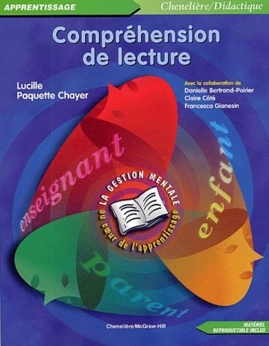 Lucille Paquette Chayer - Compréhension de lecture.