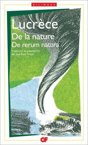 Lucrèce - De la nature (De rerum natura).