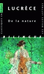 Lucrèce - De la nature - Livres I-VI, édition bilingue français-latin.