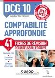 Lucrèce Ganet-Mattei et Ida Holcblat - Comptabilité approfondie DCG 10 - Fiches de révision.