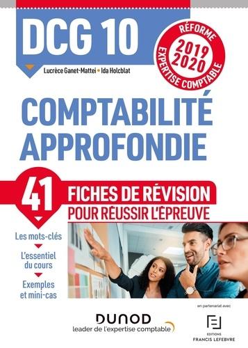 Comptabilité approfondie DCG 10. Fiches de révision  Edition 2019-2020