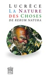 Lucrèce - La nature des choses - De rerum natura.