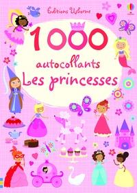 1000 autocollants Les princesses - Lucy Bowman |