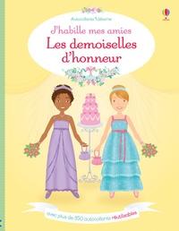 Lucy Bowman et Lynda Calvert-Weyant - Les demoiselles d'honneur - Avec plus de 350 autocollants réutilisables.