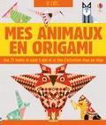Lucy Bowman et Sarah Allen - Mes animaux en origami - Avec 75 feuilles de papier à plier et un livre d'instructions étape par étape.