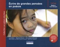 Lucy Calkins et Stephanie Parsons - Ecrire de grandes pensées en poésie - Module 4 : textes poétiques 7 et 8 ans.