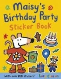 Lucy Cousins - Maisy's Birthday Party - Sticker Book.