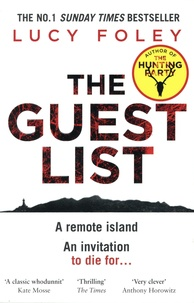 Lucy Foley - The Guest List.