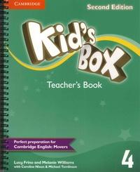 Lucy Frino et Melanie Williams - Kid's Box - Teacher's Book 4.