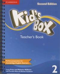 Lucy Frino et Melanie Williams - Kid's Box - Teacher's Book 2.