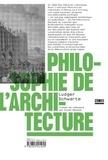 Ludger Schwarte - Philosophie de l'architecture.