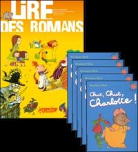 Philippe Perrot - Chut, chut Charlotte !, le fichier pédagogique + 5 romans.