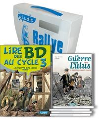 Philippe Pinturault - La guerre des Lulus, le rallye lecture - Une mallette, un fichier pédagogique photocopiable et 5 titres BD de la série La guerre des Lulus Casterman.