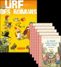 Philippe Perrot - La véritable histoire des trois petits cochons, le fichier pédagogique + 5 romans.