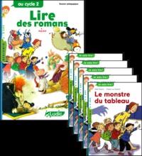 Philippe Perrot - Le monstre du tableau, le fichier pédagogique + 5 romans.