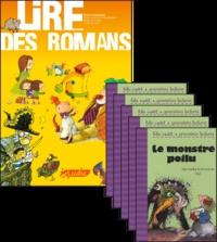 Philippe Perrot - Le monstre poilu, le fichier pédagogique + 5 romans.