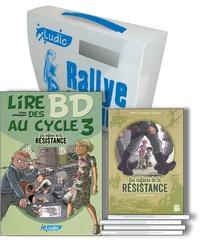 Ludic - Les enfants de la Résistance, le rallye lecture - Une mallette, un fichier pédagogique photocopiable et 5 titres BD de la série Les enfants de la Résistance Lombard.