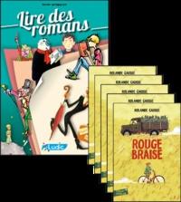 Philippe Perrot - Rouge braise - Le fichier pédagogique + 5 romans.