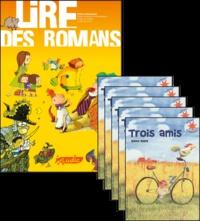 Philippe Perrot - Trois amis, le fichier pédagogique + 5 romans.