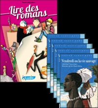 Philippe Perrot - Vendredi ou la vie sauvage - Le fichier pédagogique + 5 romans.
