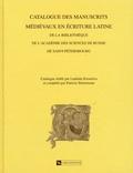 Ludmila Kisseleva et Patricia Stirnemann - Catalogue des manuscrits médiévaux en écriture latine de la bibliothèque de l'Académie des sciences de Russie à Saint-Pétersbourg.