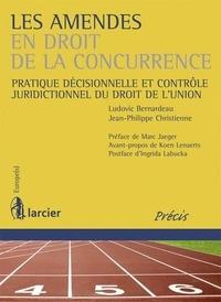 Ludovic Bernardeau et Jean-Philippe Christienne - Les amendes en droit de la concurrence - Pratique décisionnelle et contrôle juridictionnel du droit de l'Union.