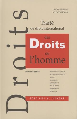 Ludovic Hennebel et Hélène Tigroudja - Traité de droit international des droits de l'homme.
