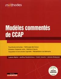 Modèles commentés de CCAP - Ludovic Myhié |