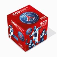 Ludovic Pinton - 500 questions et défis pour tous les fans du PSG - Contient : Un cube avec des fiches tournantes, 1 dé multiface, et 500 questions.