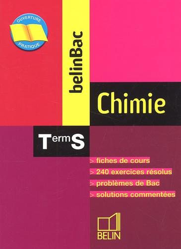 Ludovic Tresnard et Nicolas Clatin - Chimie Terminale S.