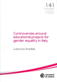 Ludovica Anedda et Isabelle Collet - Controversies around educational projects for gender equality in Italy.