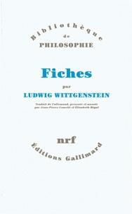 Ludwig Wittgenstein - Fiches.
