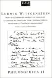 """Ludwig Wittgenstein - Philosophica. - Tome 2, Notes pour le cours sur l'expérience privée et les """"sense data"""", Le langage de l'expérience privée et des """"sens data"""", Notes pour la """"coférence philosophique"""", Edition bilingue français-allemand."""