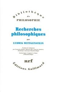 Recherches philosophiques - Ludwig Wittgenstein   Showmesound.org
