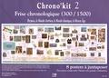 Lugdivine - Chrono'kit 2 - Frise chronologique (300/1500) Byzance, le monde chrétien, le monde islamique, le Moyen Age.