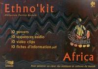 Patrick Kersalé - Ethno'kit Africa - 10 posters, 10 séquences audio, 10 clips vidéos, 10 fiches d'informaiton. 1 DVD