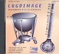 Patrick Kersalé - Lugdimage - Instruments d'ici et d'ailleurs CD-ROM.