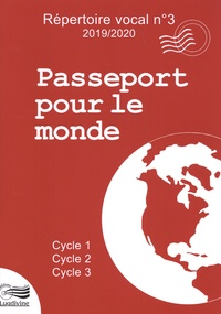 Lugdivine - Passeport pour le monde - Cycle 1, Cycle 2, Cycle 3. 1 CD audio