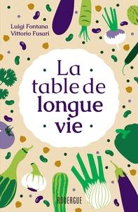 Ebooks gratuits pdf à télécharger La table de longue vie MOBI RTF iBook
