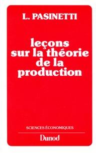Accentsonline.fr Leçons sur la théorie de la production Image