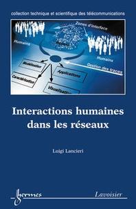LUIGI Lancieri - Interactions humaines dans les réseaux.