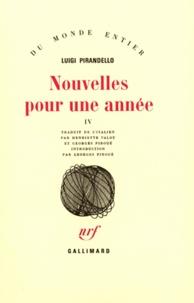 Luigi Pirandello - Nouvelles pour une année - Tome 4, Donna Minna ; Le dieu ancien.