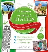 Livre complet télécharger pdf 15 minutes par jour pour se mettre à l'italien  - Une méthode efficace pour parler italien ! Pour débutants et faux débutants en francais ePub 9782035935243 par Luigia Pattano