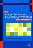 Luis Barreira et Claudia Valls - Exercices d'analyse complexe et équations différentielles.
