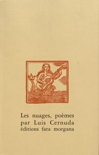 Luis Cernuda - Les nuages, poèmes.