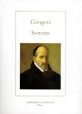 Luis de Gongora - Les sonnets.